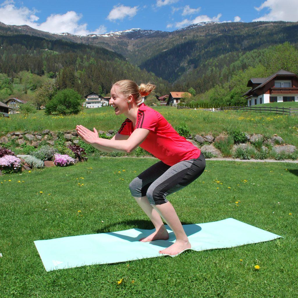 TABATA- effizientes Workout in wenigen Minuten