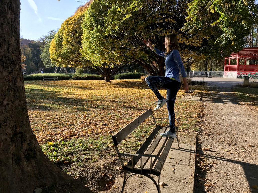 Kniestabilität für Läufer